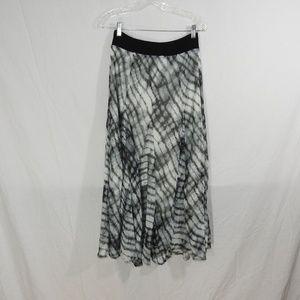 Lapis Tie Dye Boho Skirt Size Medium Lined